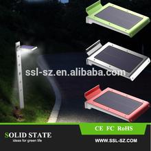 cheap price 2.5w 250lm 46leds pir motion sensor garden solar light