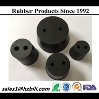 Molded high quality white rubber bung