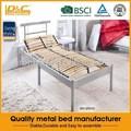 nova alta qualidade metal cama de solteiro para adultos camas beliche móveis móveis de ferro