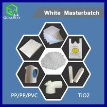 All-Purpose White Masterbatch for PP PE PVC