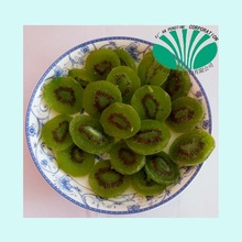 China Dried green preserved kiwis with top quality