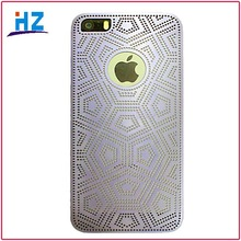 for iphone 5 / iPhone5s of mobile phone shell Metal hollow out ultra-thin design
