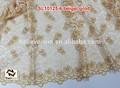 Africain soluble dans l'eau de tissu en dentelle robe de soirée sl10125 beige,