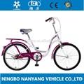 22 pouces vélo en ossature d'acier de vautré tension GB3053 / vélo de femmes de vintage/ vitesse unique