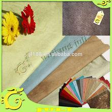 Camurça sintética tecido / 75D * 225D 100% polyeaster tecido de camurça / home têxtil para o sofá