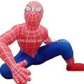 Inflável dinossauro dos desenhos animados do traje dos desenhos animados infláveis 2m inflável dos desenhos animados do homem-aranha