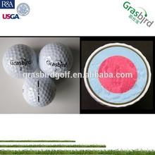 Venda quente presente 4-piece dinheiro para imprimir and play bola de golfe