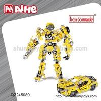 educational robot kit for kids,preschool educational toys,metal block toys