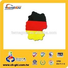 Germany flag magnet sign magnet for decorative magnetic car flag