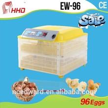 full automatic inkubator mini egg incubator 96 incubators chicks with CE Approved