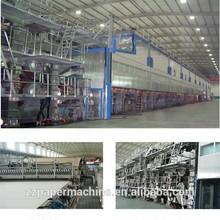 corrugated paper production machine