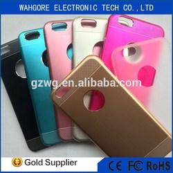 For iphone 6 aluminum case,Aluminum + PC 2 in 1 for iphone 6 / plus
