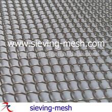 الستائر المعدنية المزخرفة، شظية معدنية ستائر شبكة المصنع