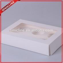 Wuhan Sinicline custom white color corrugated cardboard cake boxes wholesale