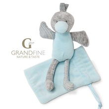 Cheap doll newborn baby super soft velvet duck doll with bag gifts with EN71 test report and CE mark and Reach docs