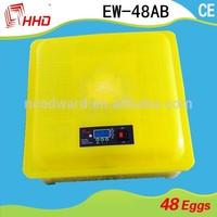 Top selling chicken eggs incubators best price for chicken egg incubator for hot selling EW-48AB