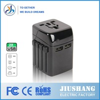 2014 independent research and development of New Design Hot shot male to female electrical plug-in adapter