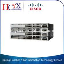 Original Cisco 24 x 10/100/1000 (PoE+) gigabit ethernet switch WS-C3750X-24P-E
