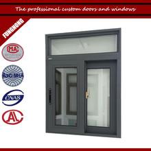 Custom aluminium frame sliding glass window with best price of aluminium sliding window