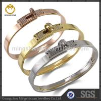 hot new product for 2015 crystal bracelet bangle best online china online wholesale pvd coating - - steel color