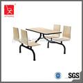 Cómodo mesa de comedor y silla a granel precio DTC-002
