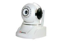 Mini Wireless Wifi Indoor 3X Zoom P2P Moblile control surveillance PTZ IP Camera