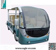 RHD Electric Shuttle Bus , electric mini bus EG6158K