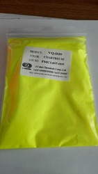 J Color Fluorescent pigment powder Yellow for paint, ink, EVA, plastics, masterbatch