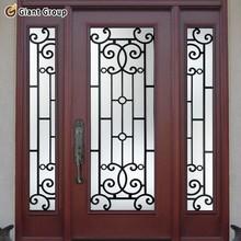 door entry wrought iron