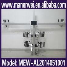 Powerful System English/Russian/Korean/Spanish Version Wheel Balancing Manual wheel alignment equipment