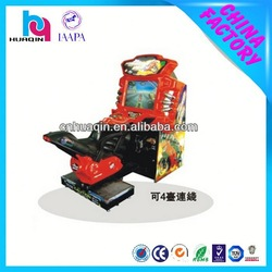 19 inch crazy for kids super motorcycle racing game machine
