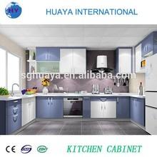 2015 New Design UV Kitchen Cabinet Color Combination