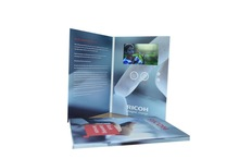 LCD Video Brochure Card Video Greeting card Video in Print