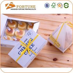 Golden Bow Paper Cupcake Box,Wholesale Box Cupcake,Cupcake Box Packaging