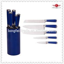 hot sale 6 pcs damascus kitchen knife smart use in kitchen