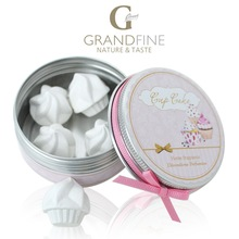 premium corporate gift set for home scented ice cream plaster in round tin box