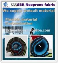 1.5mm SBR neoprene fabric wetsuit surfing wet suit diving suit material