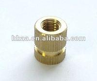 Deep Bronze Knurle Round Nut, Coupling Nut china OEM factory