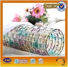 2015 hot selling glass cylinder vase/ flower pot