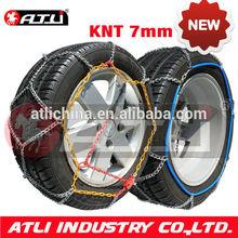 ATLI Alloy steel KNT7mm Diamond passenger car snow tire chain anti skid chain