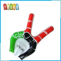 Promotional customized advertising PVC cheering inflatable hand