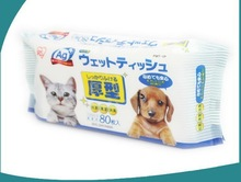 pet wet wipes,pet cleansing wet wipe,cleaning wet wipes/wet tissues/wet towels