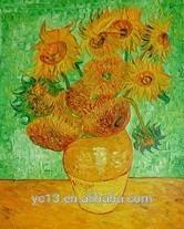 Цветок картина маслом ван гог шедевр воспроизведение