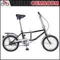 gran calidad baratos 16 pulgadas bicicleta plegable para la venta
