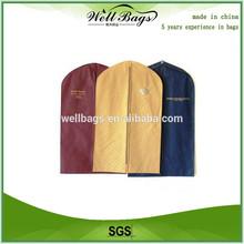 Wholesale wedding dress garment bag ,non woven garment bag, suit cover