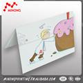 Calidad garantizada competitivo caliente de China de papel de cumpleaños tarjetas de muestras