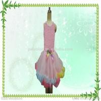 Halloween party rainbow fairy dress for child