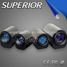 Weight 400g zoom Lens !! Varifocal length 6-36mm motorized iris F1.2 aperture Three Motorized CS mount 1/3 ccd sensor zoom Lens