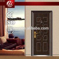 good quality steel doors hot sell exterior door 9 lite glass insert steel door