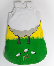 New Expandable Baby Sleeping Bag Sheep - Unique
